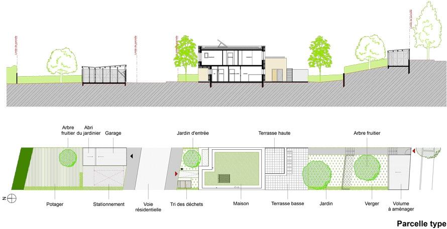 Plan De Masse Abri De Jardin St Berthevin Lueglannire Plan De Masse