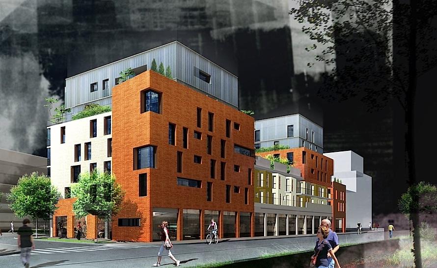 48 logements en accession le cadran solaire qe et bbc atelierphilippemadec. Black Bedroom Furniture Sets. Home Design Ideas