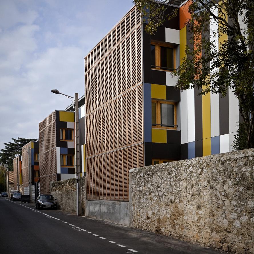 Internat dexcellence qe passif et vnac atelierphilippemadec for Montpellier terre archi