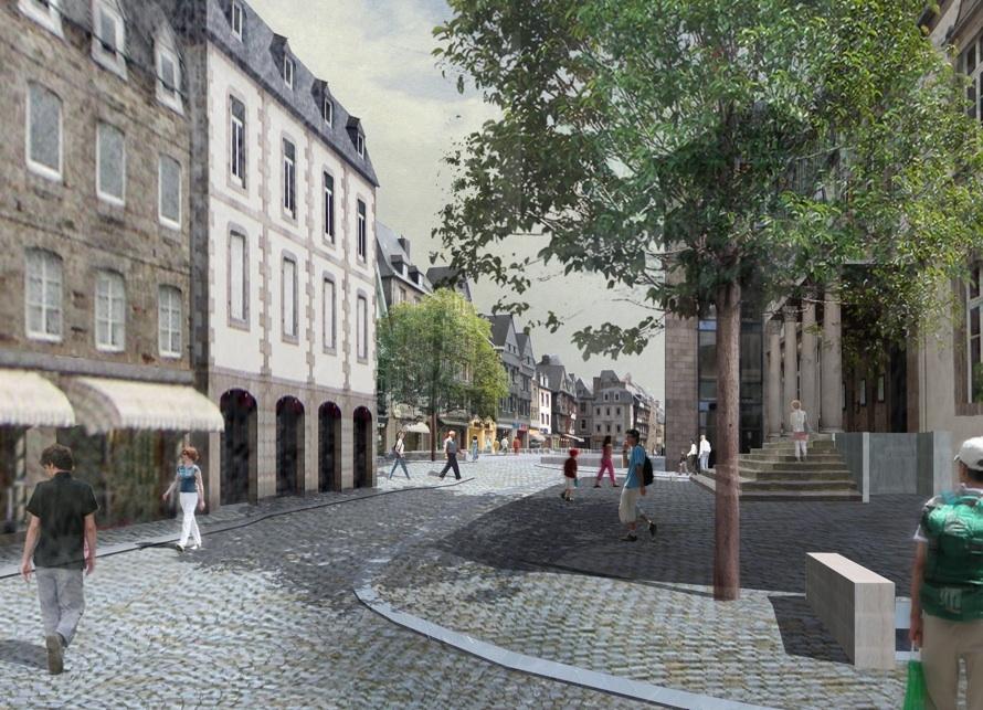 Projet Centre Ville Lannion