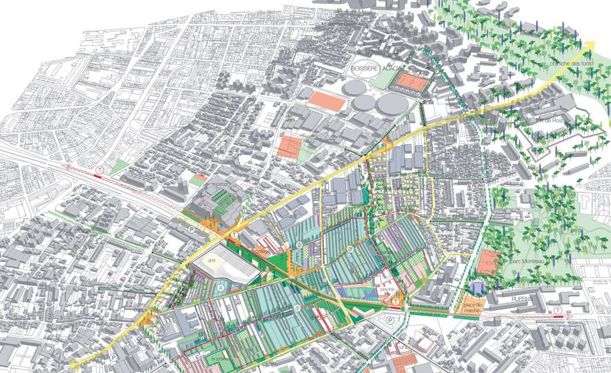 Les realisations de les projets urbains atelierphilippemadec - Piscine des murs a peche ...