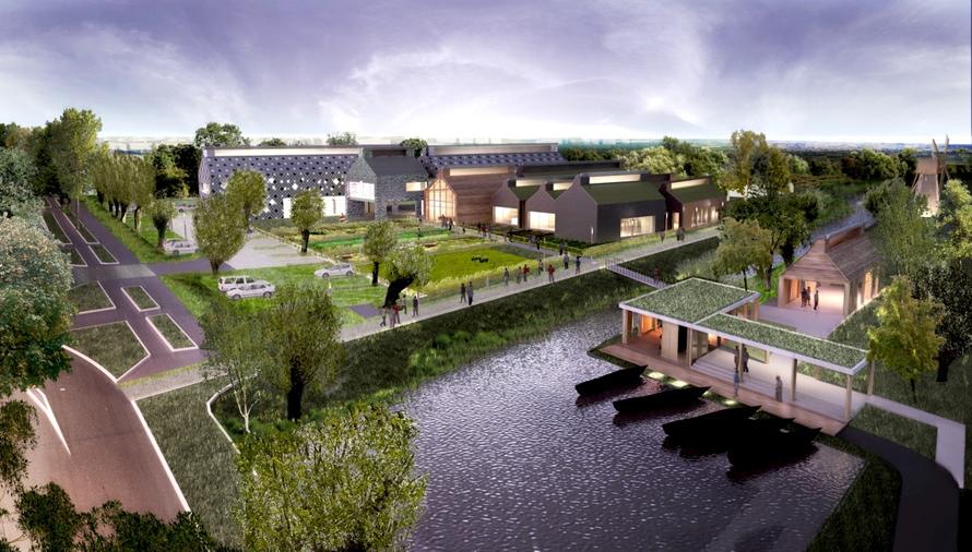 Maison du marais et de ses paysages qe et passif - Atelier du marais agencement ...
