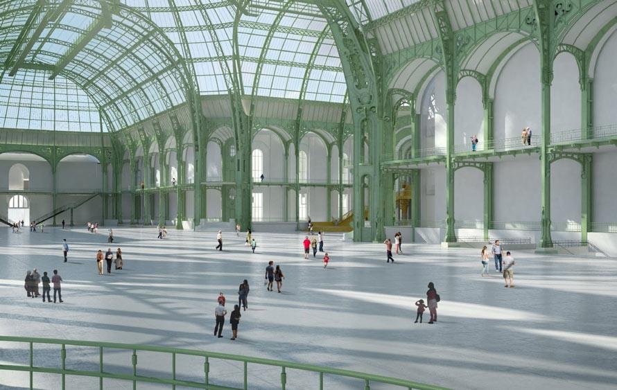 Réaménagement du Grand Palais des Champs Elysées, Paris (75008 ...